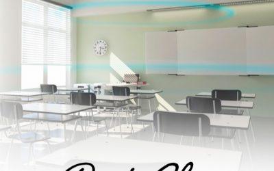 Tydligt ljud i klassrummet