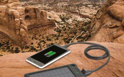 Solar Powerbank Battery – Powerbank med solceller 8000 mAh