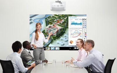 Nyhet! Epson 695wi Interaktiv projektor – Perfekt för konferensrum