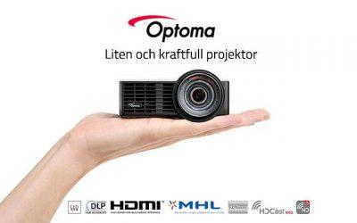 Optoma LED ML750ST WXGA 800lm – En kraftfull miniprojektor