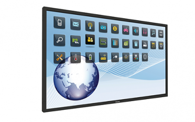 PHILIPS Proffsmonitor 65 tum Multi Touch Display